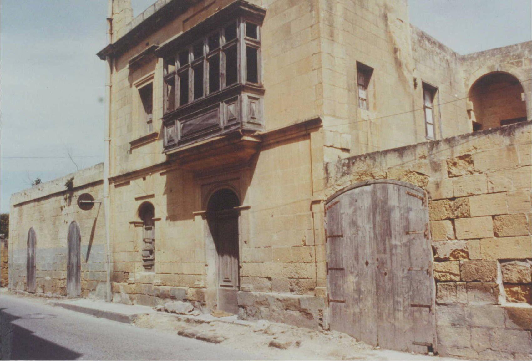"""Vittoria, Gozo: La prima """"Casa di Carità"""""""