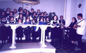 Il coro della Chiesa San Giuseppe, Misterbianco