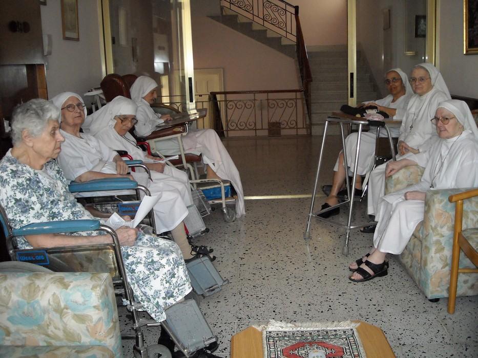 Suore anziane a Betania